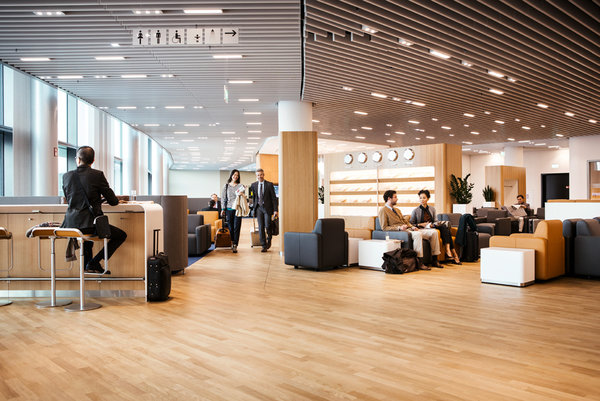 Business-Lounge, Non-Schengen-Bereich