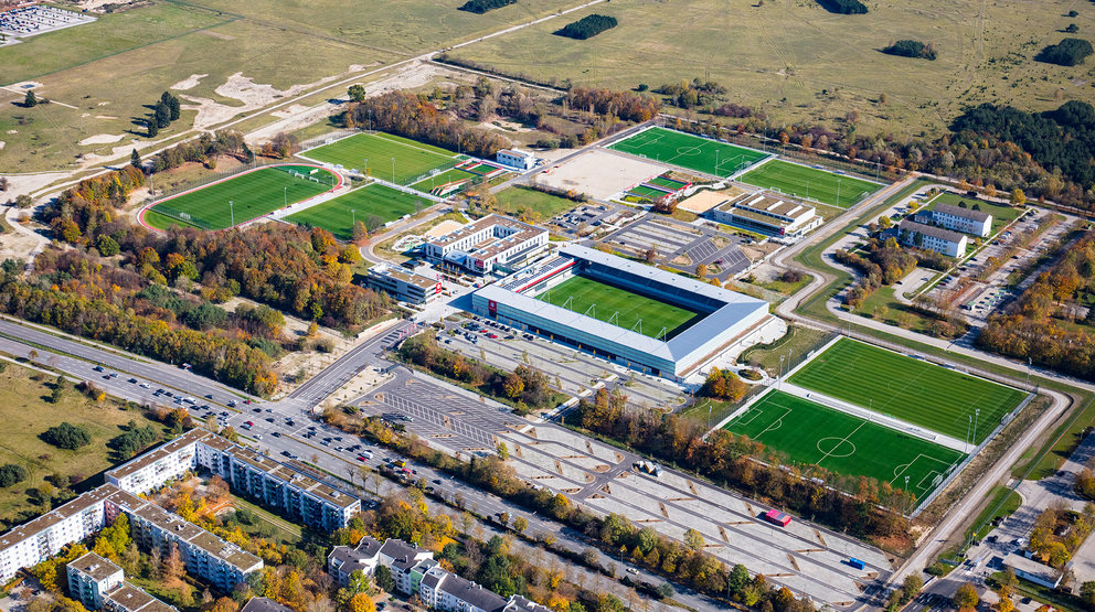 New sports ground with youth academy for FC Bayern München