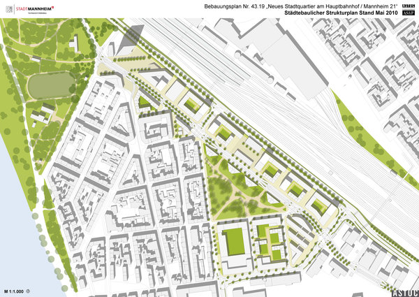Rahmenplan (ASTOC Architects and Planners, Köln)