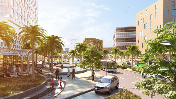 Visualisierung Al Batha Boulevard