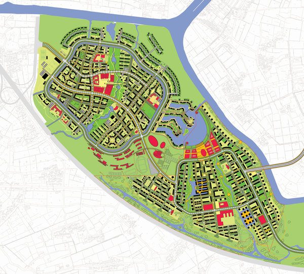 Masterplan Anting New Town